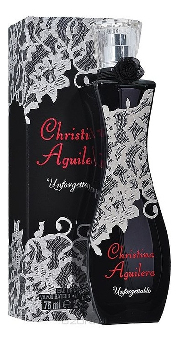 Christina Aguilera Unforgettable: парфюмерная вода 75мл лонгслив printio christina aguilera