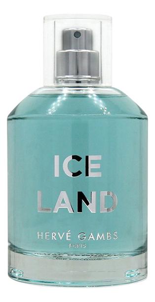 цена Herve Gambs Paris Ice Land: туалетная вода 100мл тестер онлайн в 2017 году
