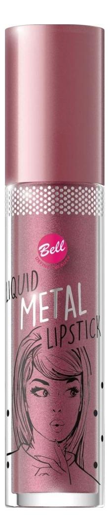 Жидкая помада для губ с эффектом металлик Liquid Metal Lipstick 4мл: No 03