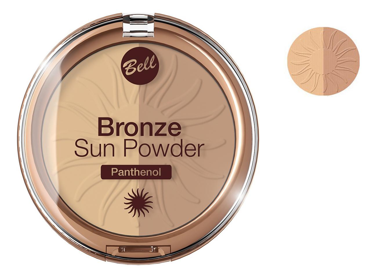 Бронзирующая пудра для лица Bronze Sun Powder Panthenol 9г: No 21 недорого