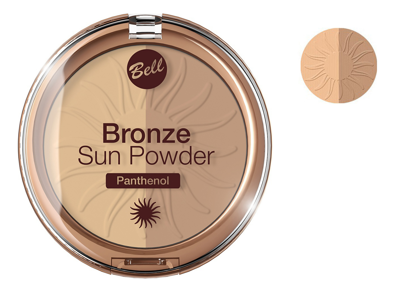 Бронзирующая пудра для лица Bronze Sun Powder Panthenol 9г: No 22