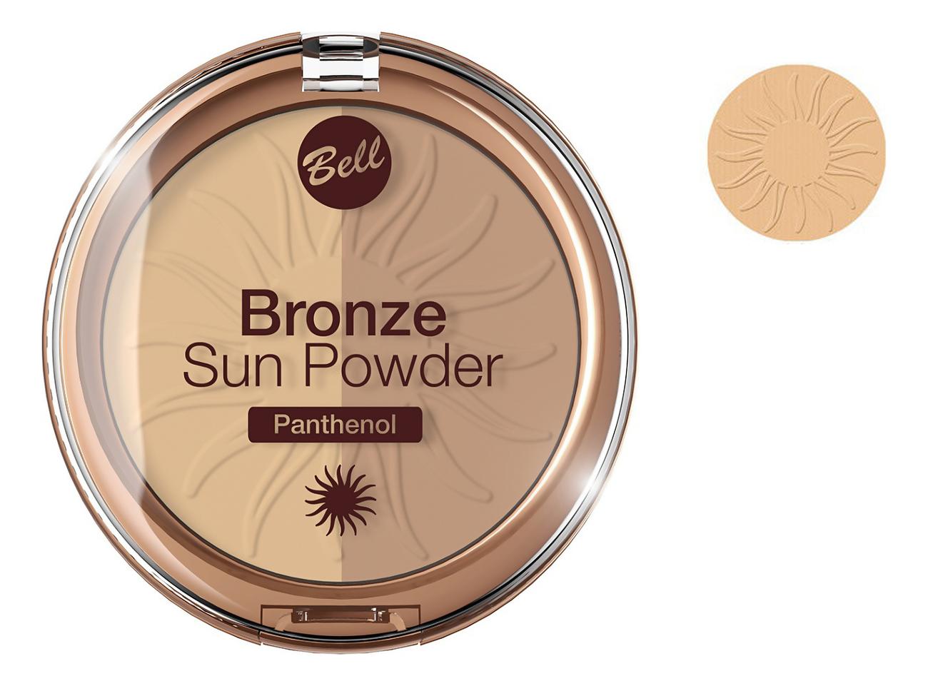 Бронзирующая пудра для лица Bronze Sun Powder Panthenol 9г: No 23 недорого