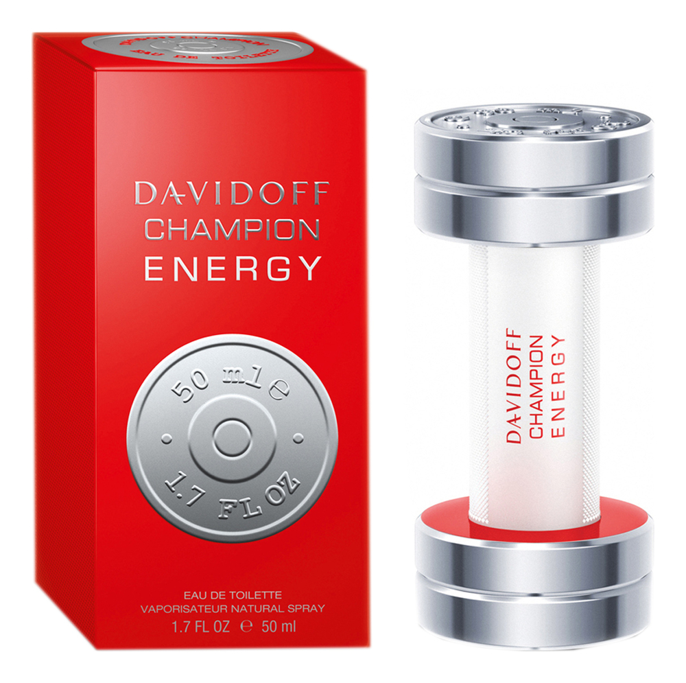 Davidoff Champion Energy: туалетная вода 50мл