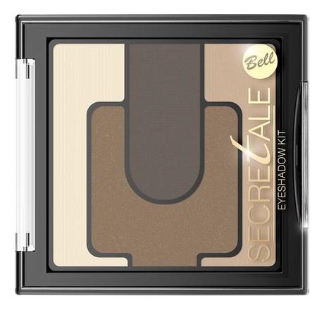 Разноцветные тени для век Secretale Eyeshadow 5г: No 01 фото