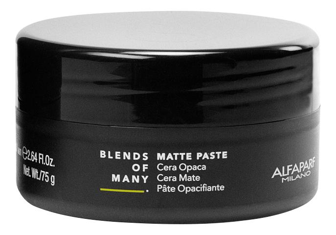 Матовая паста для укладки волос средней фиксации Matte Paste 75мл матовая паста для укладки волос be style matte shaper paste 100мл