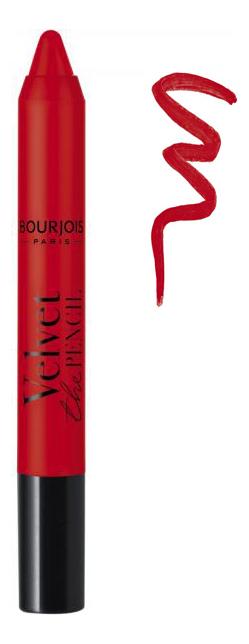 Помада-стик для губ Velvet The Pencil Lipstick 3г: No 14