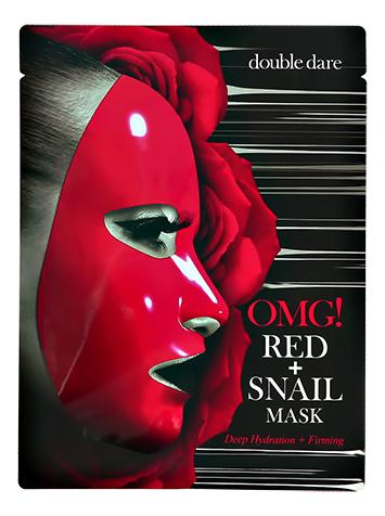 Купить Маска для лица с муцином улитки и экстрактами 8 красных растений Red + Snail Mask 26г, Double Dare OMG!