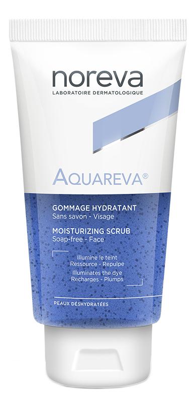 Фото - Увлажняющий скраб для лица Aquareva Moisturizing Scrab 75мл noreva акварева увлажняющий скраб 75 мл noreva aquareva