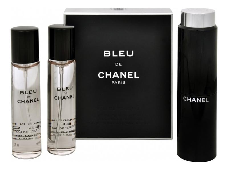 Bleu de Chanel: туалетная вода 3*20мл недорого