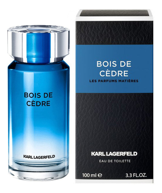 Купить Bois De Cedre: туалетная вода 100мл, Karl Lagerfeld