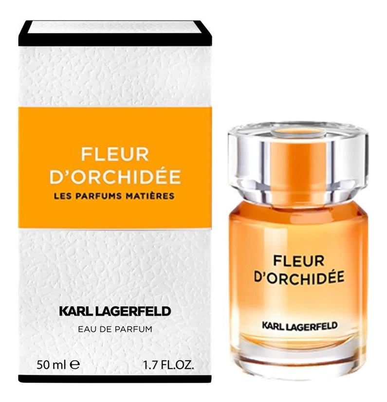 Купить Fleur D'Orchidee: парфюмерная вода 50мл, Karl Lagerfeld