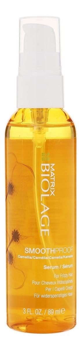 Купить Несмываемая сыворотка для гладкости волос с термозащитой Biolage Smoothproof Serum 89мл, MATRIX