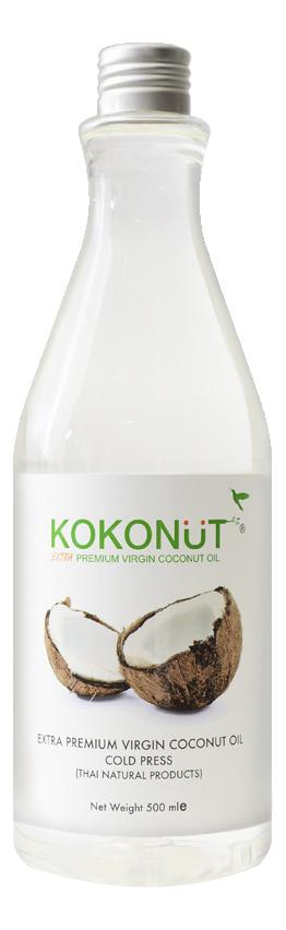 Купить Масло кокосовое для тела Extra Premium Virgin Coconut Oil: Масло 500мл (бутылка), KOKONUT