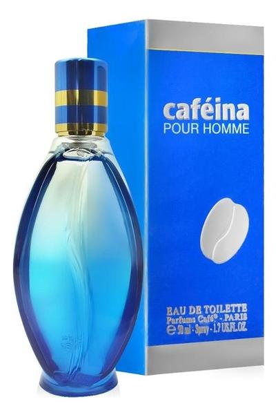 Cafe-Cafe Cafeina pour homme: туалетная вода 50мл