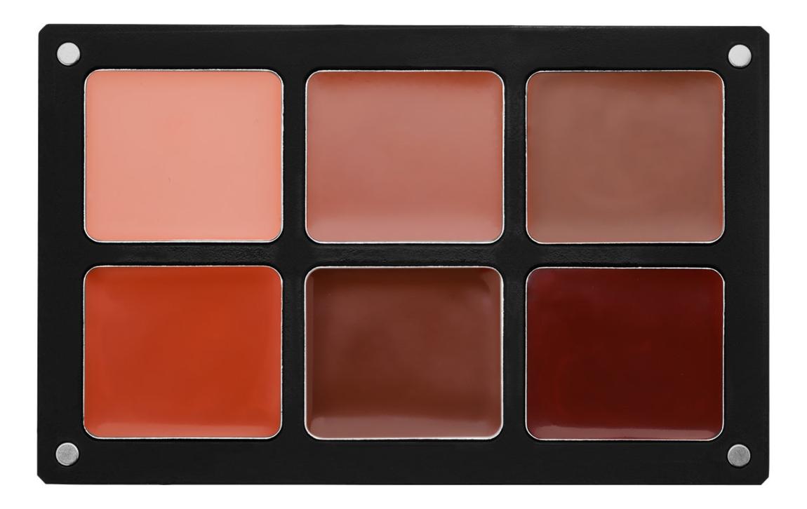 Водостойкая кремовая палетка для макияжа Waterproof Cream Palettes: Essential Palette