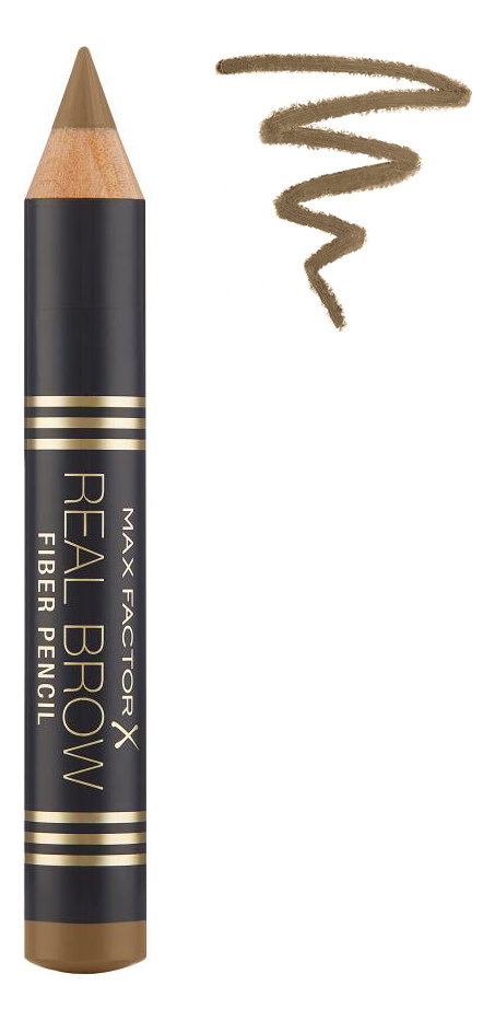 Купить Карандаш для бровей Real Brow Fiber Pencil 3, 8г: 000 Blonde, Max Factor