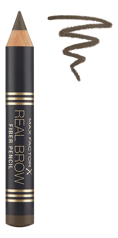 Купить Карандаш для бровей Real Brow Fiber Pencil 3, 8г: 003 Medium brown, Max Factor