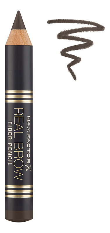 Карандаш для бровей Real Brow Fiber Pencil 3,8г: 005 Rich brown карандаш для бровей real brow fiber pencil 3 8г 003 medium brown