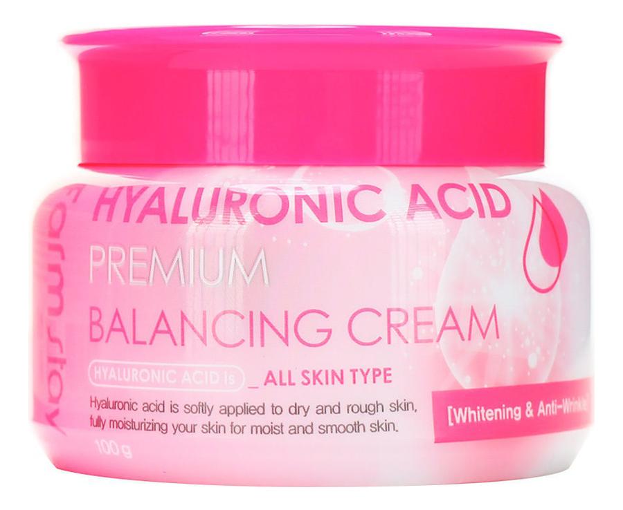 Балансирующий крем для лица с гиалуроновой кислотой Hyaluronic Acid Premium Balancing Cream 100г