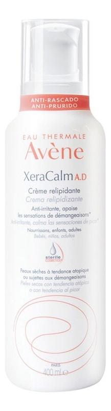 Купить Крем липидовосполняющий для лица и тела XeraСalm A.D.: Крем 400мл, Avene