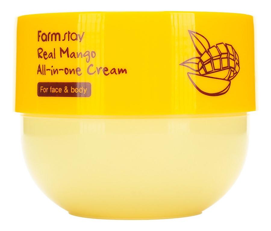 Многофункциональный крем для лица и тела с экстрактом манго Real Mango All-In-One Cream 300мл
