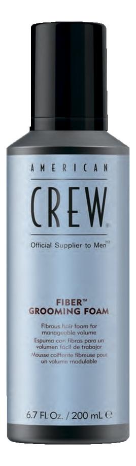 Купить Пена для укладки волос Fiber Grooming Foam 200мл, American Crew