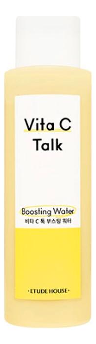 Купить Осветляющая вода для лица с витамином С Vita C-Talk Boosting Water 150мл, Etude House