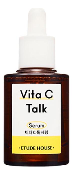 Купить Сыворотка для лица с витамином С Vita C-Talk Serum 30мл, Etude House
