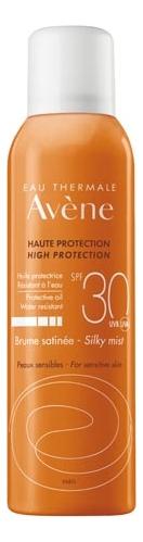 Купить Солнцезащитный невесомый спрей для тела SPF30 Haute Protection Brume Satinee 150мл, Avene