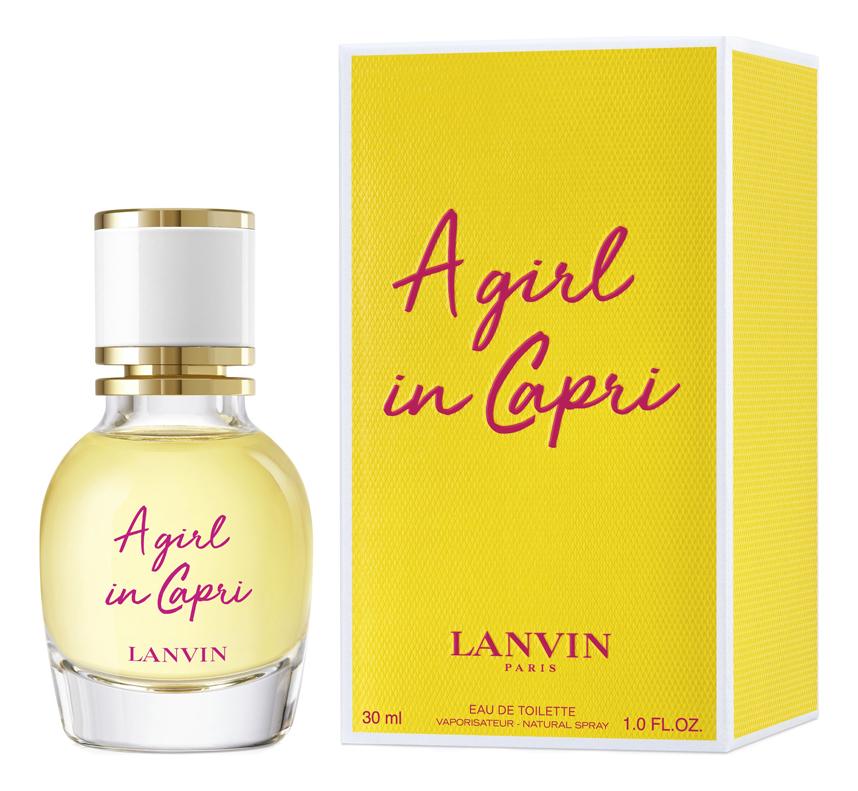 Купить Lanvin A Girl In Capri: туалетная вода 30мл