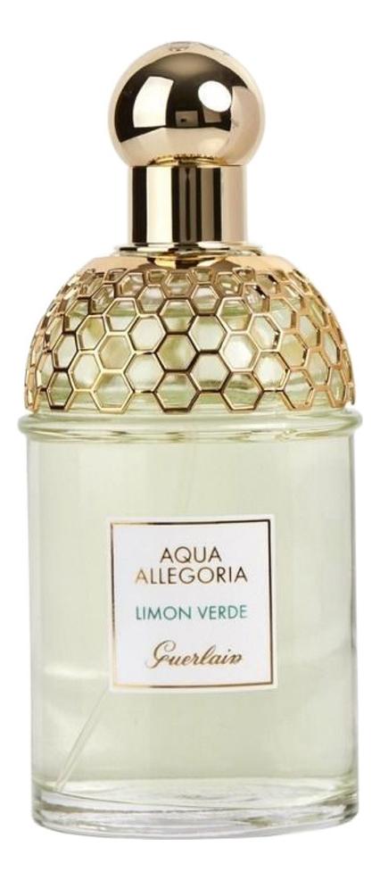 Guerlain Aqua Allegoria Limon Verde : туалетная вода 125мл тестер guerlain aqua allegoria pivoine magnifica туалетная вода 125мл тестер