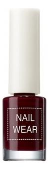 Лак для ногтей Nail Wear 7мл: 18 Red Bean Brown