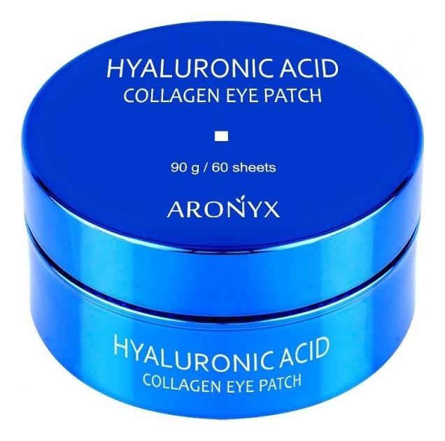 Гидрогелевые патчи для кожи вокруг глаз с коллагеном и гиалуроновой кислотой Aronyx Hyaluronic Acid Collagen Eye Patch 60шт недорого
