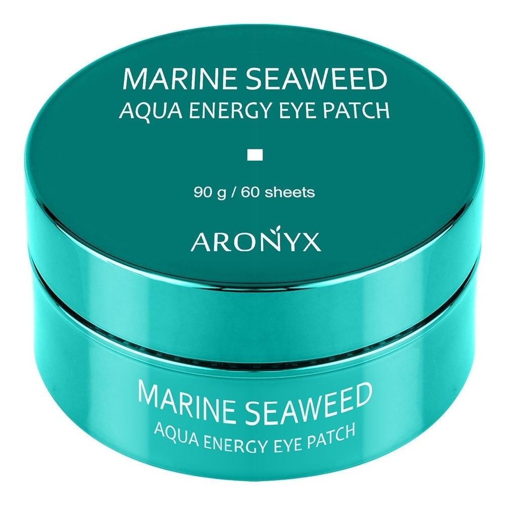 Гидрогелевые патчи для кожи вокруг глаз с экстрактом морских водорослей Aronyx Marine Seaweed Aqua Energy Eye Patch 60шт