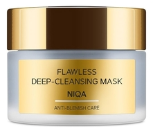 Zeitun Маска для лица с углем и марокканской глиной Niqa Flawless Deep-Cleansing Mask