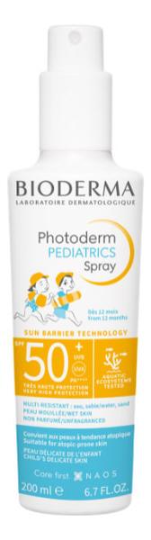 Солнцезащитный спрей для детей Photoderm Kid Spray SPF50+ 200мл bioderma солнцезащитный для детей