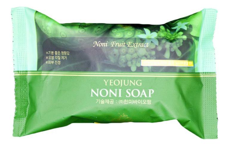 Купить Мыло для тела с экстрактом нони Yeojung Noni Soap 120г, JUNO