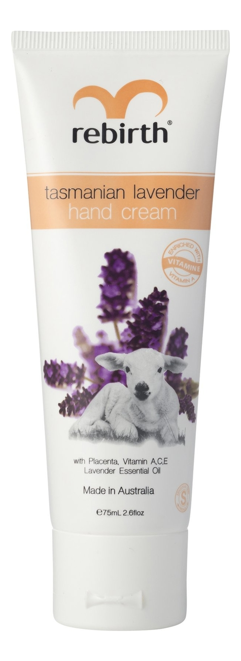 Купить Крем для рук тасманийская лаванда Tasmanian Lavender Hand Cream 75мл, Rebirth