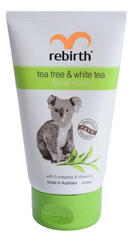 Купить Гель для умывания с маслом чайного дерева и белым чаем Tea Tree & White Tea Facial Wash: Гель 100мл, Гель для умывания с маслом чайного дерева и белым чаем Tea Tree & White Tea Facial Wash, Rebirth