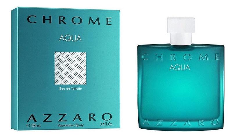 Купить Chrome Aqua: туалетная вода 100мл, Azzaro