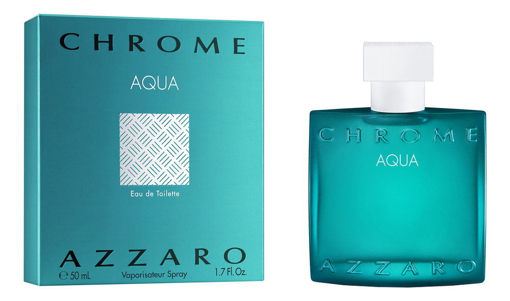 Купить Chrome Aqua: туалетная вода 50мл, Azzaro