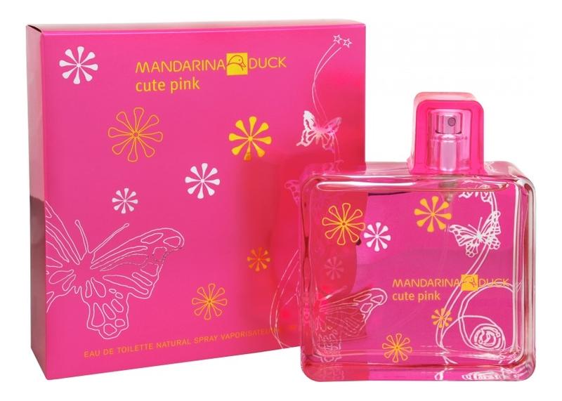 Mandarina Duck Cute Pink: туалетная вода 100мл