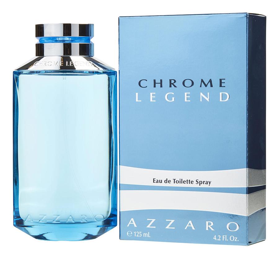 Azzaro Chrome Legend: туалетная вода 125мл цена и фото