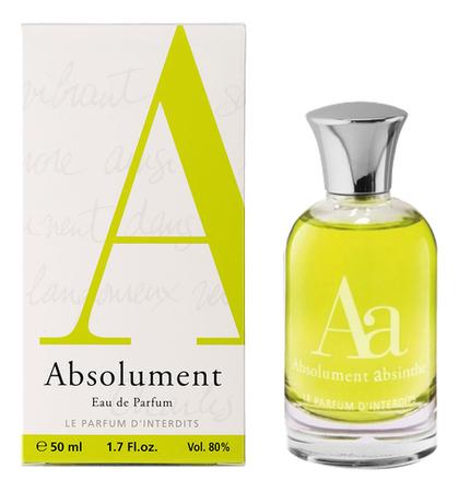 цена на Absolument Absinthe: парфюмерная вода 50мл