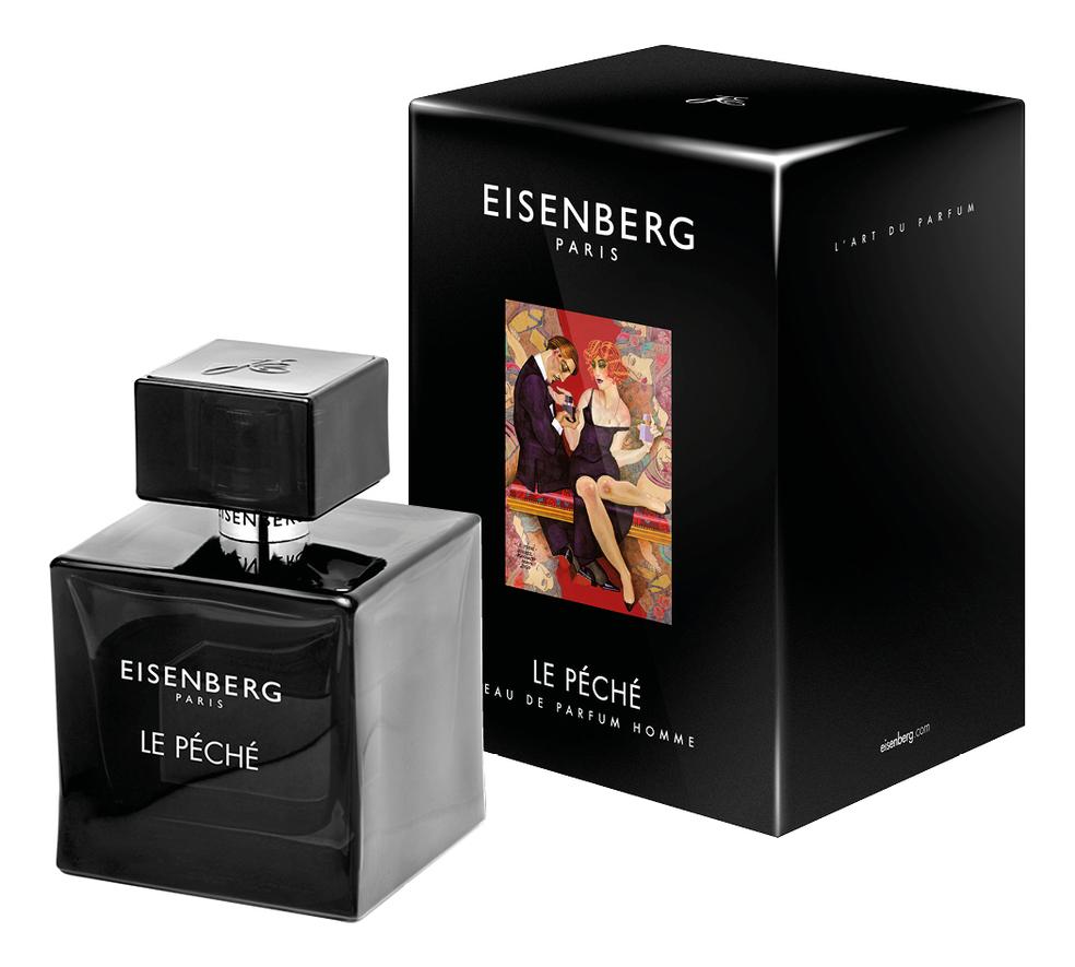 Le Peche Homme: парфюмерная вода 100мл eisenberg le peche духи 15мл