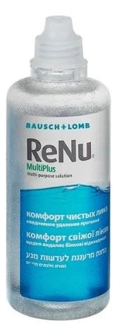 цена на Универсальный раствор для контактных линз ReNu MultiPlus: Раствор 240мл
