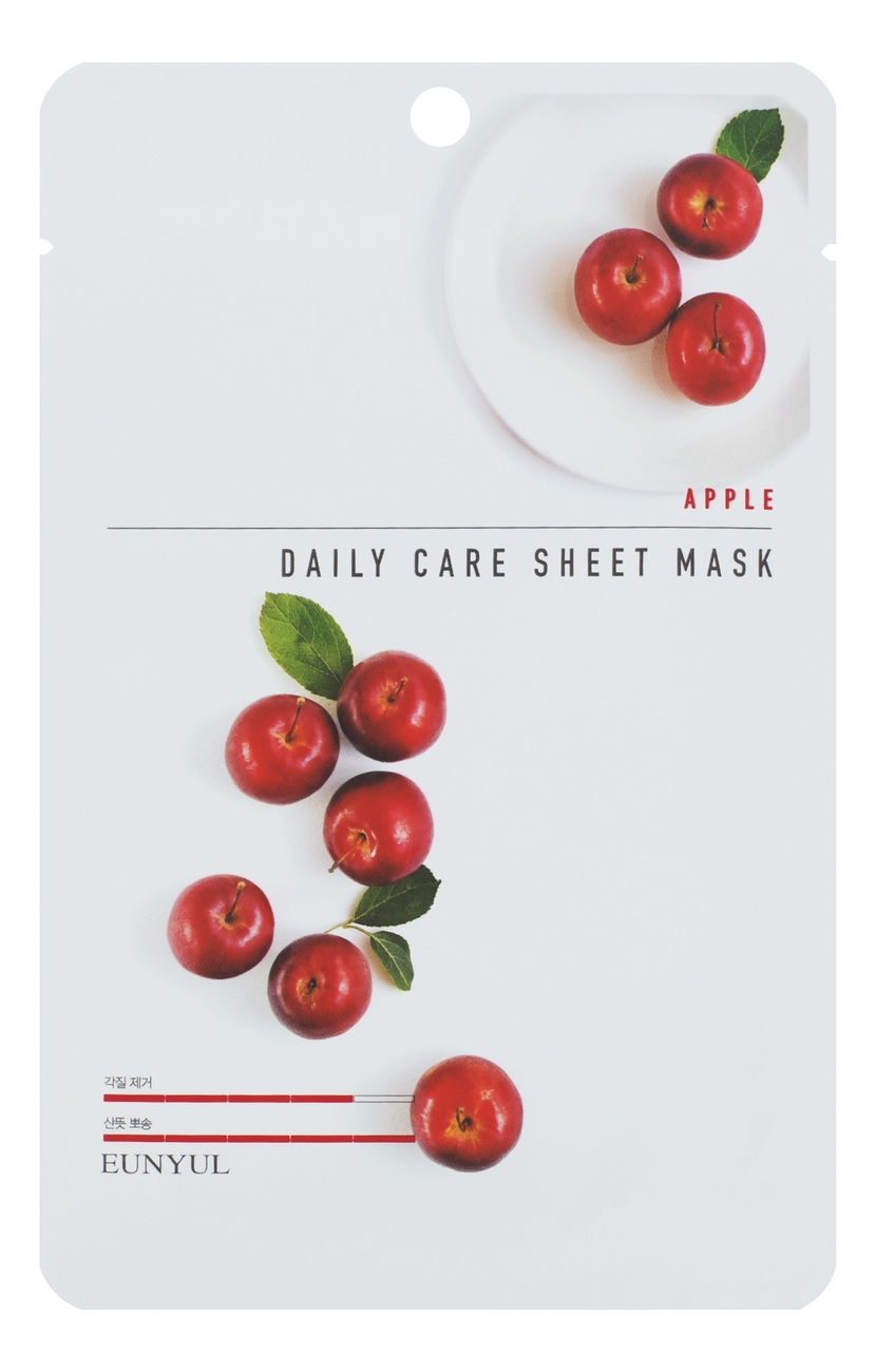 Тканевая маска для лица с экстрактом яблока Apple Daily Care Sheet Mask 22г: Маска 1шт недорого