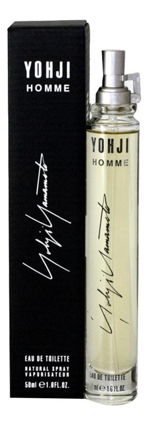 Yohji men: туалетная вода 50мл yohji senses туалетная вода 50мл тестер