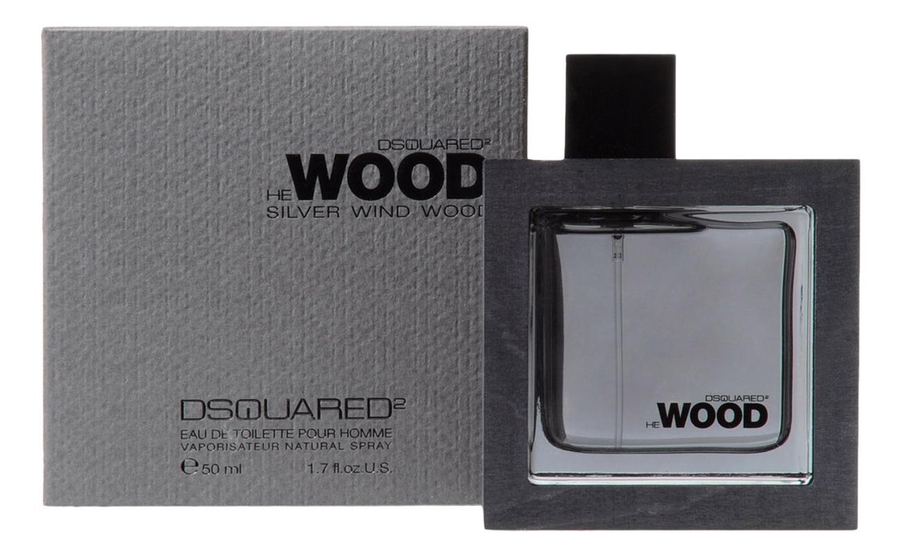 Dsquared2 He Wood Silver Wind Wood: туалетная вода 50мл dsquared2 he wood intense