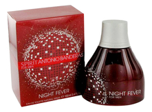 Antonio Banderas Spirit Night Fever For Men